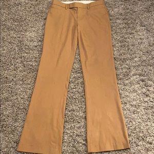 Gap Modern Boot Camel Dress Pants